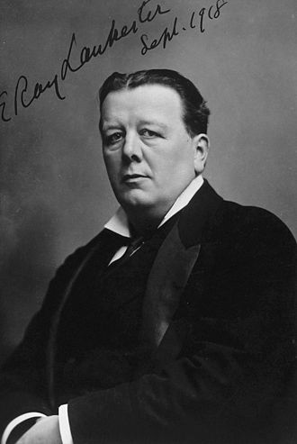 Ray Lankester - Sir Edwin Ray Lankester in 1918