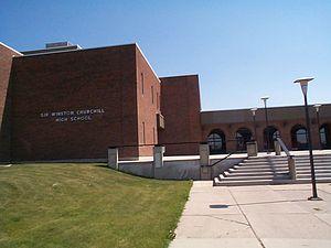 Sir Winston Churchill High School - Image: Sir Winston Churchill High School 2