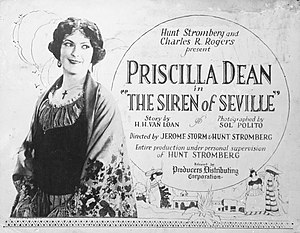 The Siren of Seville - Lobby card