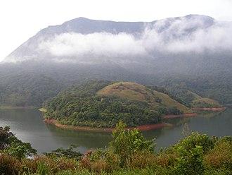 Siruvani River - Part of the Siruvani River