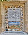 Sitges. Taulell amb el Madrigal a Sitges de Josep Carner.jpg