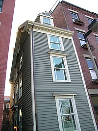 The Skinny House Stands Near The Top Of Coppu0027s Hill, Across The Street From  The Historic Coppu0027s Hill Burying Ground And Within Sight Of Old North  Church, ...