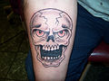 Skull tattoo cover-up by Keith Killingsworth.JPG