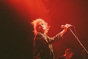 Sky Ferreira - Image: Sky Ferreira the pageant 2013 1