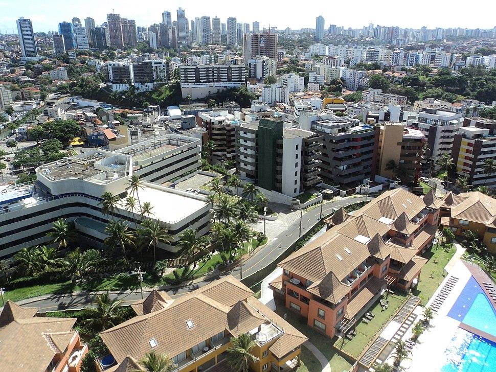 Skyline of Salvador, Brazil