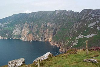 Slieve League - Image: Slieve League cliffs 2