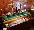 Slottsfjellsmuseet Museum Tønsberg Norway. Svend Foyn Spes & Fides 1863 Whaler Harpoon cannon Ship model Hvalbåt Harpunkanon Skipsmodell Medals and awards Medaljer og utmerkelser 2020-01-21 DSC02159.jpg