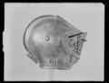 Sluten hjälm till Gustav II Adolfs tornerrustning, Sverige 1620-tal - Livrustkammaren - 44956.tif