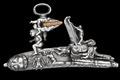Snapplås alla romana D Santi - Firearms III - Livrustkammaren - 87472.tif