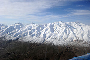 Ghazni Province - Snow-covered mountains in Ghazni province