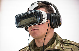 Head-mounted display device used in virtual reality systems