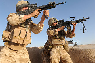 Operation Panther's Claw - Welsh Guards engage the Taliban on 27 June 2009 as part of Operation Panther's Claw.
