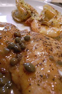 Meunière sauce - Wikipedia, the free encyclopedia