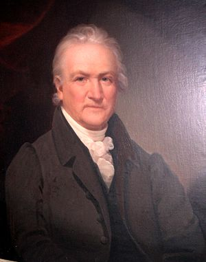 Solomon Townsend - Oil on canvas by Ezra Ames, 1808