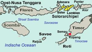 Solor - Solor archipelago.