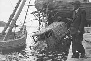 Somua - Image: Somua MCG recovery in Lussinpiccolo 1943