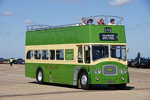 Southdown bus 426 (BUF 426C), 2010 North Weald bus rally (2).jpg