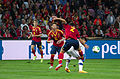Spain - Chile - 10-09-2013 - Geneva - Ignacio Monreal, Sergio Ramos and Raul Albiol.jpg