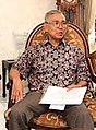 Speakers and Deputy Speaker of People's Consultative Assembly met Try Sutrisno (cropped).jpg