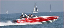 Speedboat on Lake Michigan in Chicago.jpg