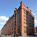 Speicherstadt (Hamburg-HafenCity).Block W West.ajb.jpg