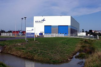 Spirit AeroSystems - Saint-Nazaire, France manufacturing plant.