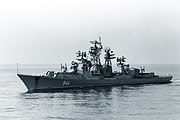 Sposobny in the Sea of Japan, 1982
