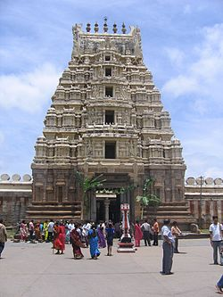 Ranganathaswamy temple (984 A.D.) at Srirangapatna in Mandya district