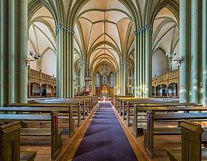St. Gertrude Old Church Interior 1, Riga, Latvia - Diliff.jpg