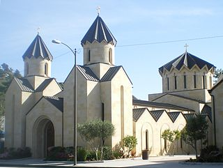 St. Gregory the Illuminator Cathedral (Glendale, California) Church in California, United States