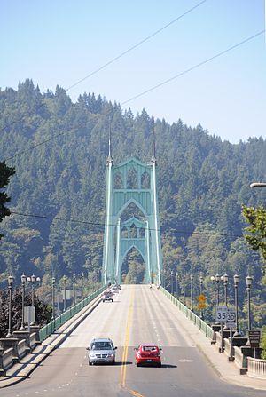 St. Johns Bridge - Image: St. Johns Bridge 04