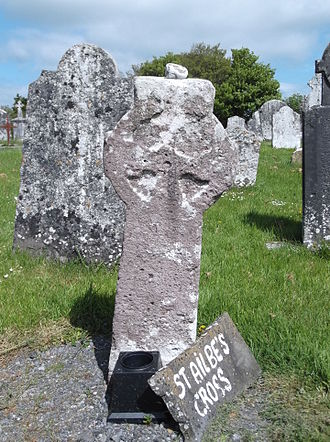 Ailbe of Emly - St Ailbe's Cross in Emly.
