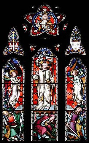 Hardman & Co. - The Risen Christ from St Catherine's Church, Kingsdown, Kent