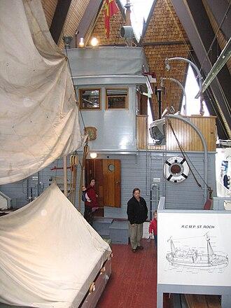 St. Roch (ship) - Image: St Roch VMM