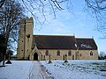 St James, Aston Abbotts on Christmas morning - geograph.org.uk - 1635798.jpg