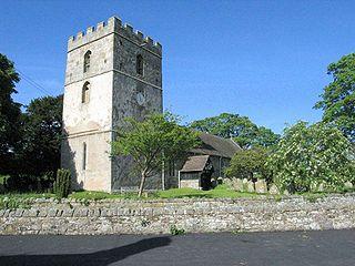 St James Church, Cardington Church in Shropshire, England