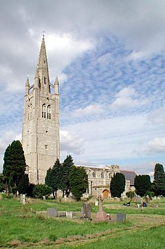 St James the Great, Hanslope, Bucks - geograph.org.uk - 333065.jpg