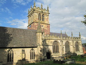 Ellesmere, Shropshire - St Mary's Church