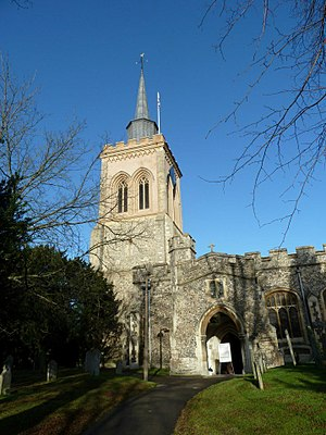 Church of St Mary the Virgin, Baldock - Image: St Mary the Virgin Baldock