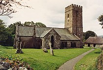 St Peter, Buckland in the Moor, Devon - geograph.org.uk - 1730353.jpg