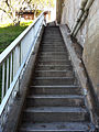 Stairs leading up to the top of Peterborough Lift Lock.jpg