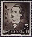 Stamp 1939 Mihai Eminescu 5L.jpg