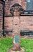 Standing cross at St Barnabas, Bromborough.jpg