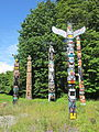 Stanley Park totem poles, Vancouver (2013) - 5.JPG