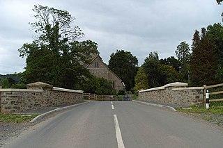 Stanton Lacy village in United Kingdom