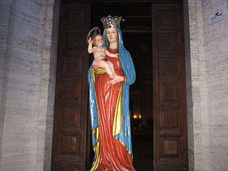 Madonna di Pietraquaria Italian religious feast