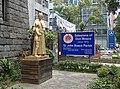 Statue of Don Bosco at St. John Bosco Parish Church, Taipei 20110314a.jpg