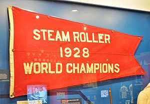 Providence Steam Roller - 1928 World Champions pennant.