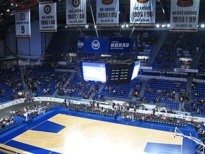 Sport in Slovakia - Steel Arena in Košice