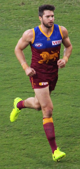 Stefan Martin - Martin playing for the Brisbane Lions in April 2017